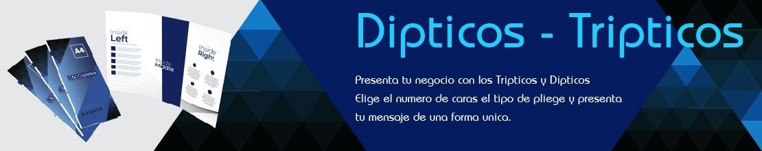 DIPTICOS - TRIPTICOS
