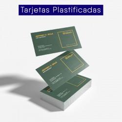 Tarjetas Plastificadas