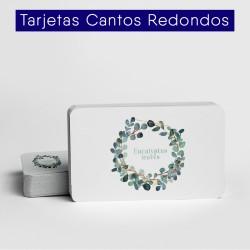 Tarjetas Cantos Redondos
